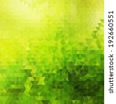 abstract green geometric sunny...   Shutterstock .eps vector #192660551