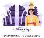 bali woman bringing sesajen to... | Shutterstock .eps vector #1926612047