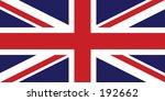 uk flag | Shutterstock . vector #192662