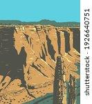 spider rock sandstone spire in...   Shutterstock .eps vector #1926640751