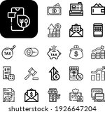 payment collection vector icons ...   Shutterstock .eps vector #1926647204
