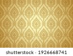 thai art and asian style luxury ... | Shutterstock .eps vector #1926668741
