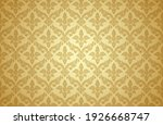 thai art and asian style luxury ... | Shutterstock .eps vector #1926668747