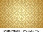 thai art and asian style luxury ... | Shutterstock .eps vector #1926668747