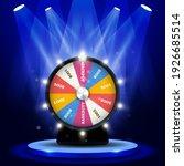 lottery big win   jackpot on...   Shutterstock .eps vector #1926685514