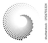dots  circles spiral  swirl ... | Shutterstock .eps vector #1926701324