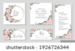 vector floral template for... | Shutterstock .eps vector #1926726344