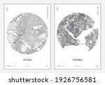 travel poster  urban street... | Shutterstock .eps vector #1926756581