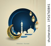 blue and gold color design for... | Shutterstock .eps vector #1926760841