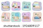 set of illustrations on the... | Shutterstock .eps vector #1926809117