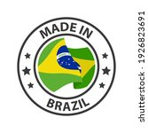 made in brazil icon. stamp made ... | Shutterstock .eps vector #1926823691