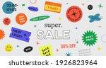 special offer super sale banner ... | Shutterstock .eps vector #1926823964