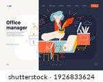 business topics   office...   Shutterstock .eps vector #1926833624