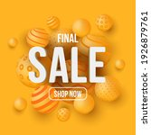 final sale banner or social... | Shutterstock .eps vector #1926879761