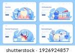 dentist web banner or landing... | Shutterstock .eps vector #1926924857