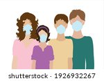 illustration of family with...   Shutterstock .eps vector #1926932267