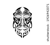 the face of the chief in samoan ... | Shutterstock .eps vector #1926942071