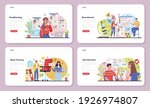headhunting web banner or... | Shutterstock .eps vector #1926974807