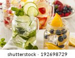 Healthy Spa Water With Fruit O...
