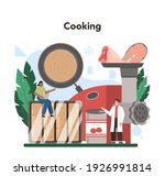 semi processed goods production.... | Shutterstock .eps vector #1926991814