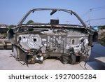 Part of body damaged car for...