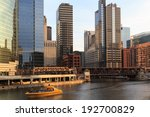 The Chicago River Serves As Th...