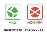 veg  non veg   vegetarian and... | Shutterstock .eps vector #1927023251