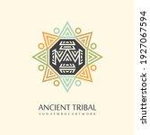ancient tribal creative native... | Shutterstock .eps vector #1927067594