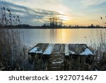 A Fishing Platform In The Reeds ...