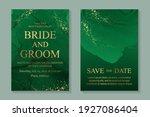modern abstract luxury wedding... | Shutterstock .eps vector #1927086404