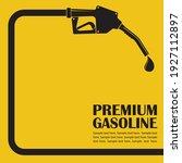 gasoline fuel pump nozzle... | Shutterstock .eps vector #1927112897