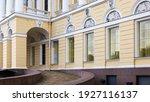 Facade Of A Historic Building...