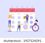 planning schedule  business... | Shutterstock .eps vector #1927124291