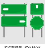 sign  left or right  | Shutterstock .eps vector #192713729