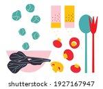 abstract cut elements ... | Shutterstock .eps vector #1927167947