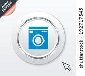 washing machine icon. home...