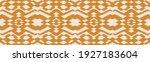 ikat border. geometric folk...   Shutterstock .eps vector #1927183604