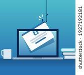 phishing. hacking account.... | Shutterstock .eps vector #1927192181