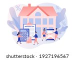 house loan. mortgage concept.... | Shutterstock .eps vector #1927196567