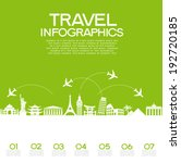 infographics elements  travel... | Shutterstock .eps vector #192720185