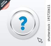 question mark sign icon. help...