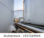Fuel Storage Tank Oil. Large...