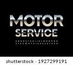 vector modern logo motor...   Shutterstock .eps vector #1927299191