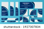 set of medical health banners... | Shutterstock .eps vector #1927307834