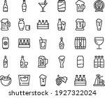 food line icon set   beer ... | Shutterstock .eps vector #1927322024