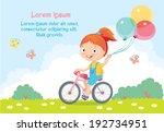 children's card | Shutterstock .eps vector #192734951