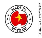 made in vietnam icon. stamp... | Shutterstock .eps vector #1927397567