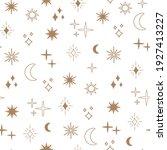 boho astrology and star... | Shutterstock .eps vector #1927413227