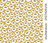 seamless pattern with white...   Shutterstock .eps vector #1927420154