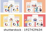 set of illustrations about...   Shutterstock .eps vector #1927429634